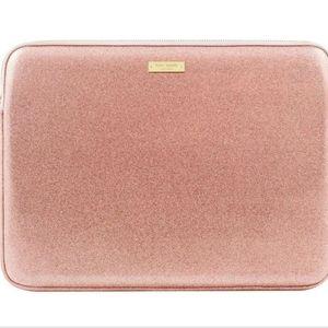 "*SOLD* Kate Spade 13"" Laptop Sleeve in RG Glitter"